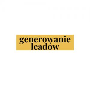 Generowane leadów